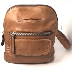 Fossil Long Live Vintage Leather Backpack